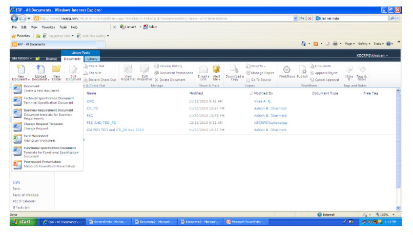 SharePoint Implementation For Social Intranet Screenshot 3