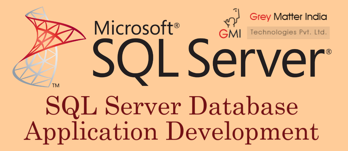 sql server database application development