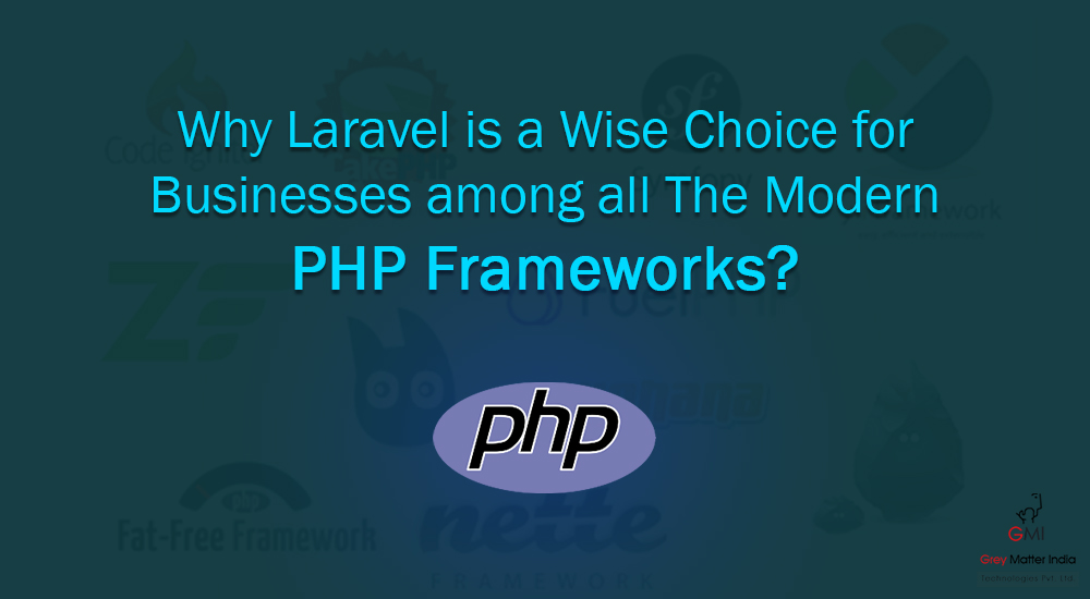 Why Laravel is a Wise Choice for Businesses among all The Modern PHP Frameworks