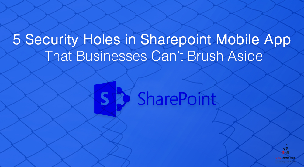 SharePoint mobile application development