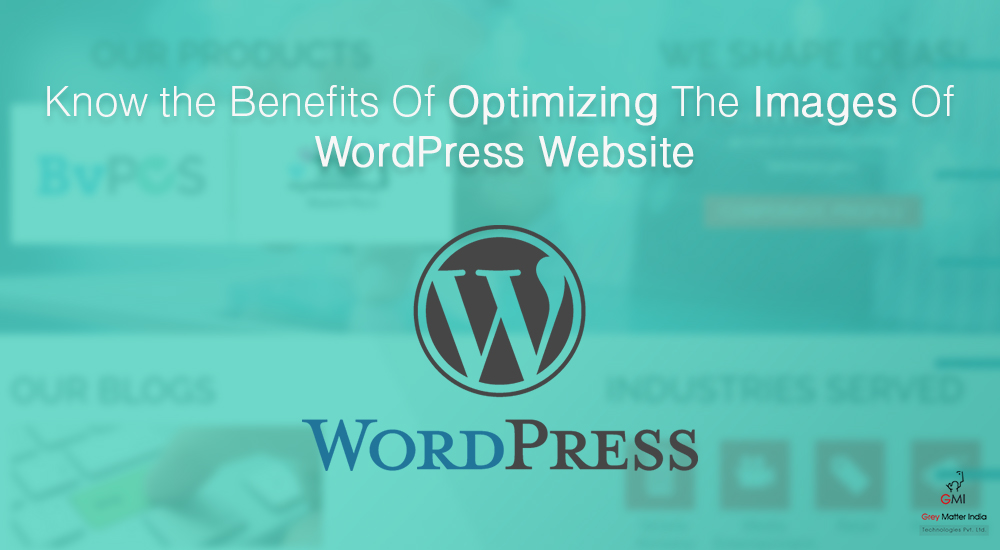 WordPress website development, WordPress image optimization