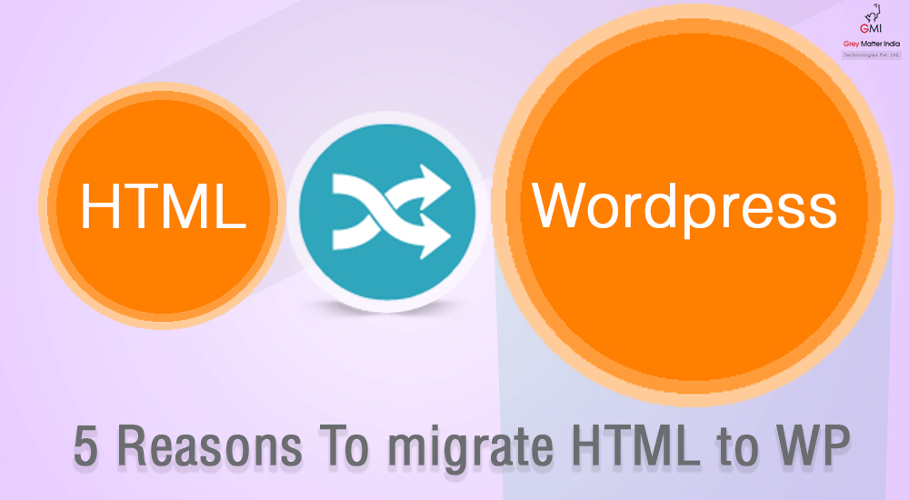 Reasons To migrate Your HTML Site to WordPress Site